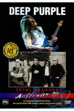 Deep Purple - Total Abandon: Live in Australia 1999 DVD Cover Art
