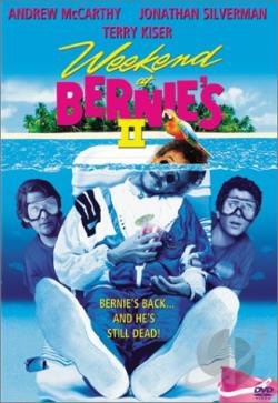 Weekend at Bernie's II DVD Cover Art