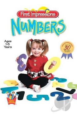 Baby's First Impression - Numbers DVD Cover Art