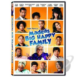 Tyler Perry's Madea's Big Happy Family DVD Cover Art