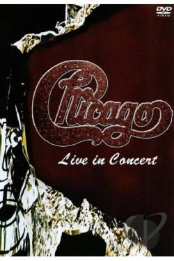Chicago: Live in Concert DVD Cover Art