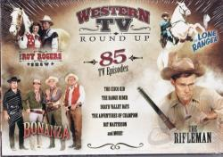 Western TV Roundup: 85 TV Episodes DVD Cover Art