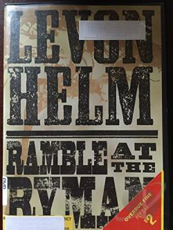 Levon Helm: Ramble at the Ryman DVD Cover Art