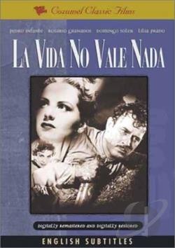 Vida No Vale Nada DVD Cover Art