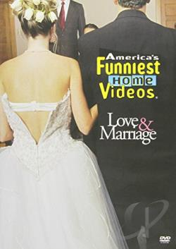 America's Funniest Home Videos - Love & Marriage DVD Cover Art