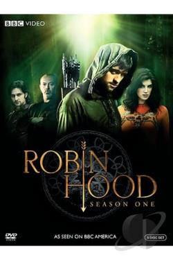 Robin Hood - The Complete First Season DVD Cover Art