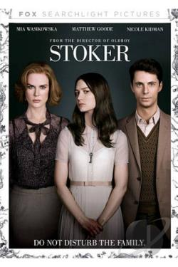Stoker DVD Cover Art