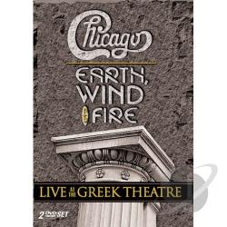 Chicago with Earth, Wind & Fire - Live At the Greek Theatre DVD Cover Art