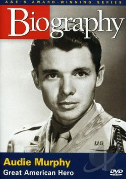 Biography: Audie Murphy DVD Cover Art