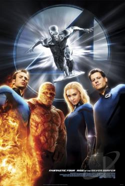 Fantastic Four: Rise of the Silver Surfer DVD Cover Art