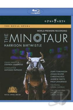 Birtwistle - The Minotaur BRAY Cover Art