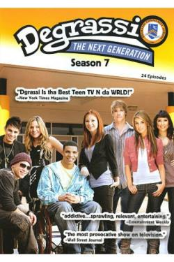 Degrassi: The Next Generation - Season 7 DVD Cover Art