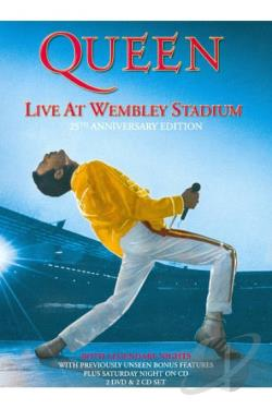 Queen - Live at Wembley '86 DVD Cover Art