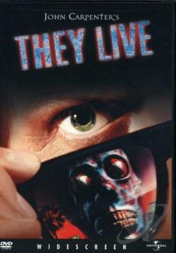 They Live DVD Cover Art