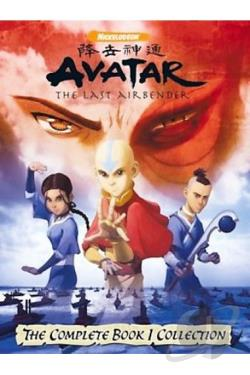 Avatar: The Last Airbender - Book 1: Water - The Complete Collection DVD Cover Art