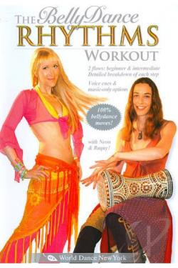 Bellydance Rhythms Workout DVD Cover Art