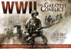 WWII: The Greatest Conflict DVD Cover Art
