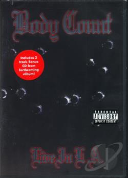 Body Count - Live in L.A. DVD Cover Art