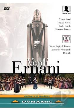 Verdi - Ernani DVD Cover Art