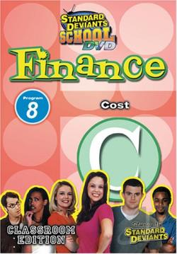 Standard Deviants - Finance Module 8: Cost DVD Cover Art
