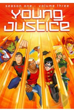 Young Justice - The First Season: Vol. 3 DVD Cover Art
