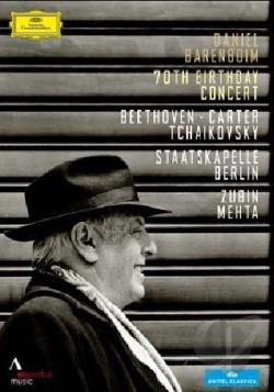 Daniel Barenboim: 70th Birthday Concert DVD Cover Art