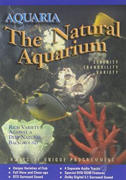 Aquaria: The Natural Aquarium DVD Cover Art