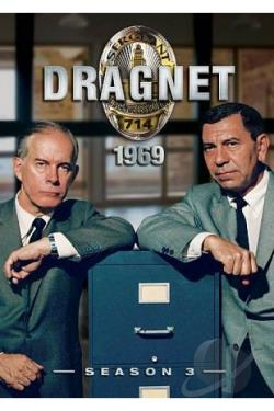 Dragnet - The Complete Third Season DVD Cover Art
