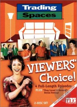 Trading Spaces - Viewer's Choice DVD Cover Art