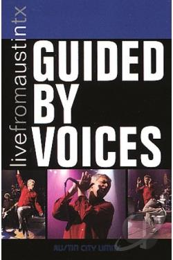 Guided by Voices - Live from Austin, Texas DVD Cover Art