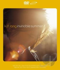 K.D. Lang - Invincible Summer DVD Cover Art