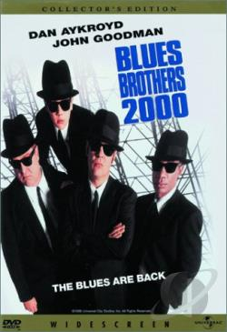 Blues Brothers 2000 DVD Cover Art