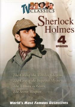 World's Most Famous Detectives - Vol. 4: Sherlock Holmes DVD Cover Art