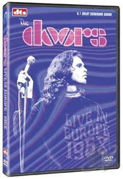 Doors - Live in Europe 1968 DVD Cover Art