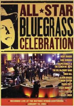 All Star Bluegrass Celebration DVD Cover Art