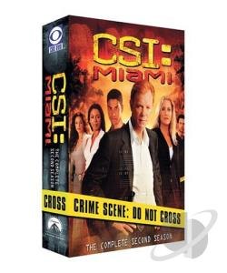 CSI - Miami - The Complete Second Season DVD Cover Art