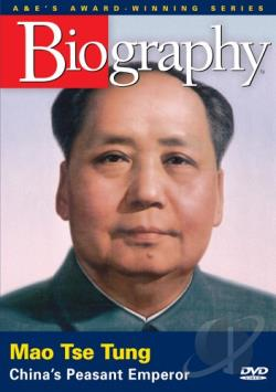 Biography: Mao Tse Tung DVD Cover Art