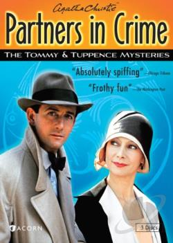 Agatha Christie's Partners in Crime: The Tommy & Tuppence Mysteries DVD Cover Art