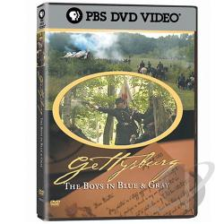 Gettysburg: The Boys in Blue & Gray DVD Cover Art