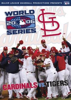 2006 MLB World Series - St. Louis Cardinals DVD Cover Art