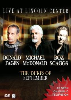 Dukes of September: Live from Lincoln Center DVD Cover Art