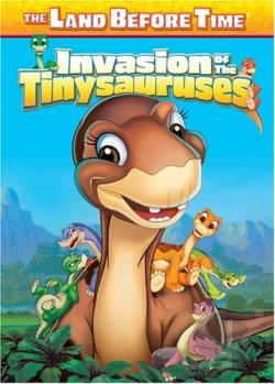 Land Before Time XI: The Invasion Of The Tinysauruses DVD Cover Art