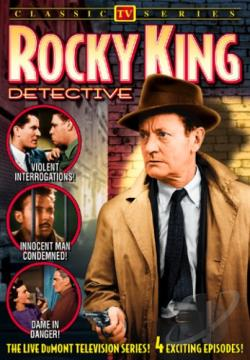 Rocky King, Detective DVD Cover Art