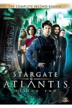 Stargate: Atlantis - The Complete Second Season DVD Cover Art
