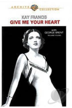 Give Me Your Heart DVD Cover Art