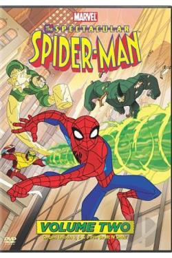 Spectacular Spider - Man: Vol. 2 DVD Cover Art