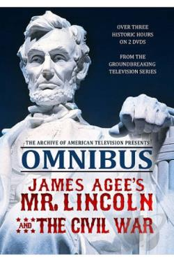 Omnibus: James Agee's Mr. Lincoln and the Civil War DVD Cover Art