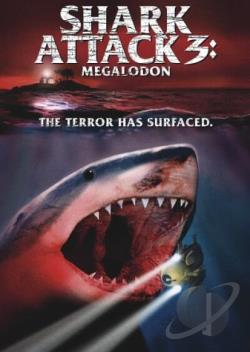 Shark Attack 3: Megalodon DVD Cover Art