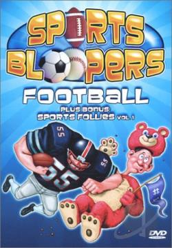 Sports Bloopers: Football DVD Cover Art