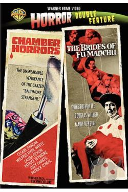 Chamber of Horrors/Brides of Fu Manchu DVD Cover Art